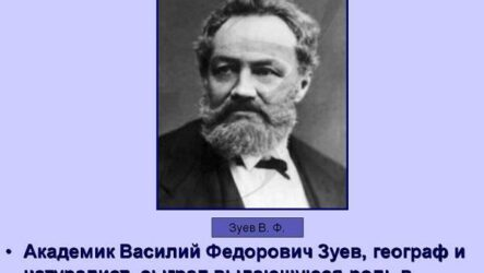Академик Василий Федорович Зуев — биолог и путешественник. Биография и труды