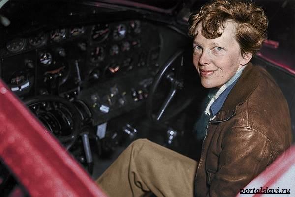 Амелия-Эрхарт-женщина-пилот-пропавшая-в-океане-11