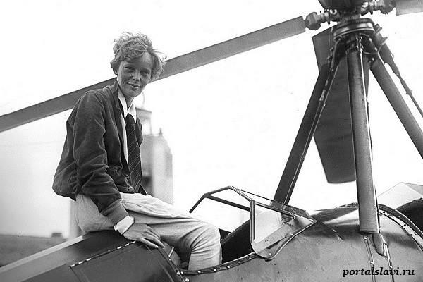 Амелия-Эрхарт-женщина-пилот-пропавшая-в-океане-12