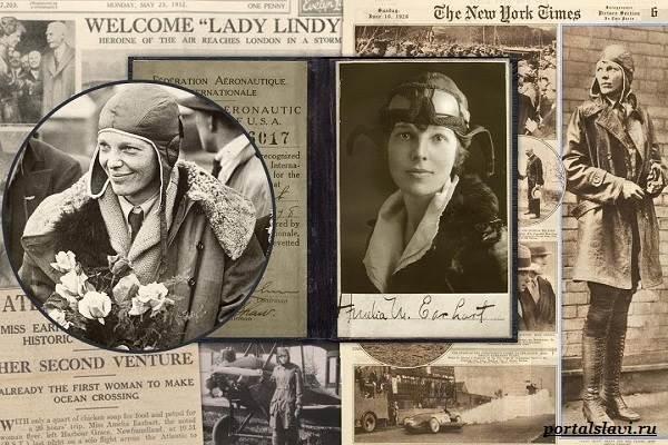Амелия-Эрхарт-женщина-пилот-пропавшая-в-океане-15